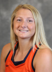 Photo Courtesy VirginiaSports.com.  Lucy Hyams scored the game winning goal in overtime to lift the Cavaliers past the Orange, 1-0.