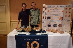 Student Volunteers for Challah for Hunger