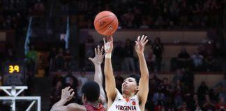 uva basketball standout Kihei Clark hits game winning three